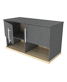Kratos Wall Mounted Garage Cabinet with Open Space