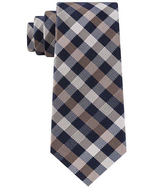 Michael Kors Men's Spectrum Plaid Tie