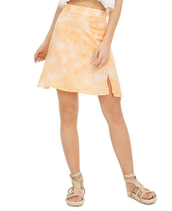 Free People Martine Flirt Tie-Dye Mini Skirt