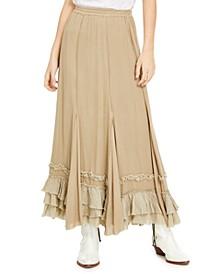 Cypress Ruffle Maxi Skirt