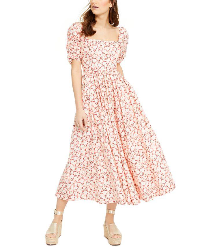 Free People - She's A Dream Cotton Midi Dress