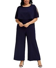 Plus Size Popover Jumpsuit
