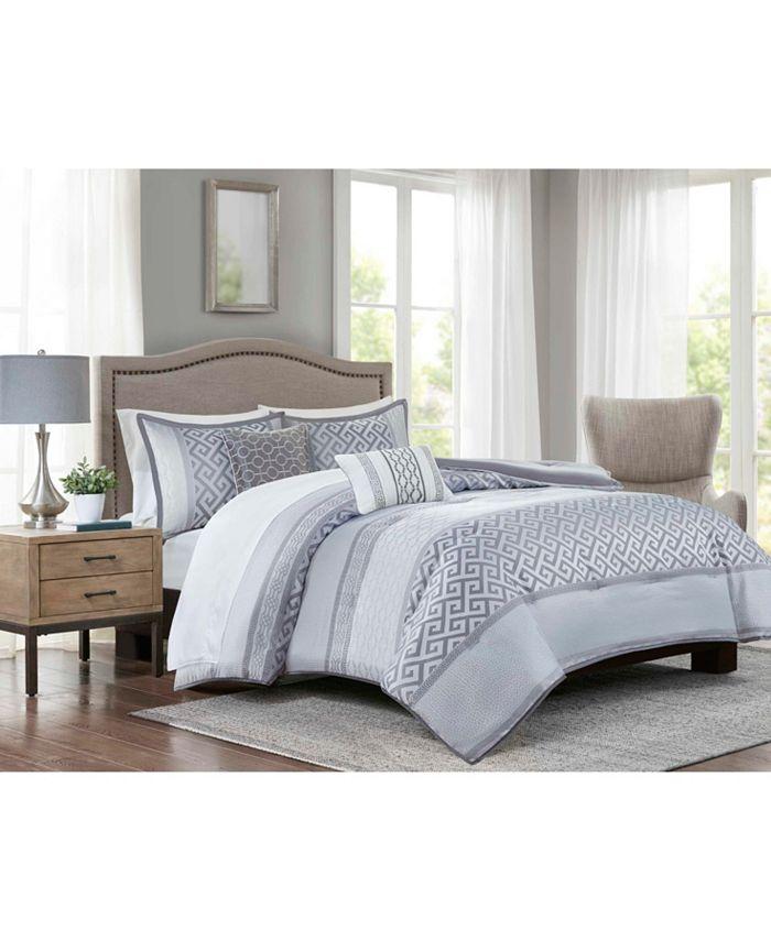 Addison Park - Bennett grey 9pc Comforter set