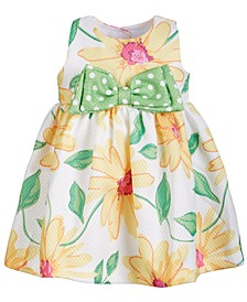 Baby Girls Floral-Print Dress