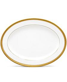 Crestwood Gold Oval Platter