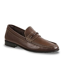 Men's Moc Toe Strap Slip-On