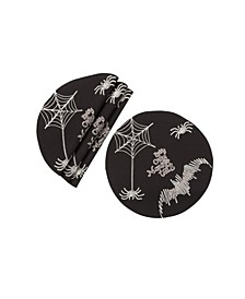 Happy Halloween Double Layer Placemats - Set of 4