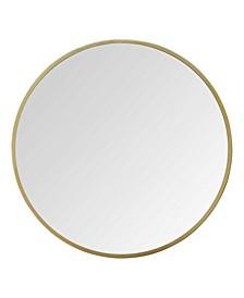 "Stratton Home Decor 28"" Aubrey Metal Wall Mirror"