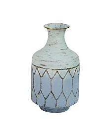Stratton Home Decor Metal Table Vase