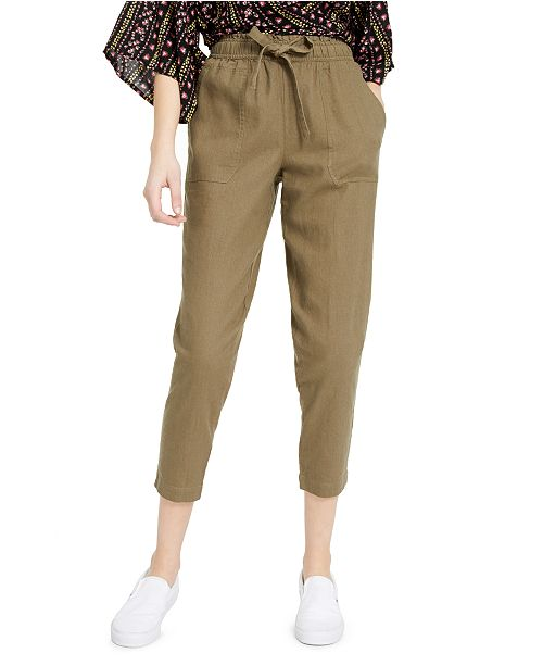 Indigo Rein Juniors' Cropped Pull-On Pants