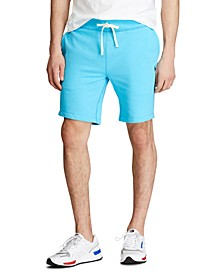 "Men's 9.5"" Cotton-Blend-Fleece Shorts"