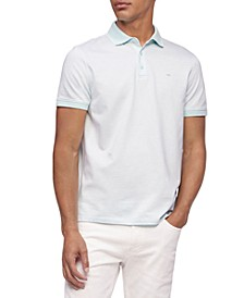 Liquid Touch Herringbone Polo Shirt