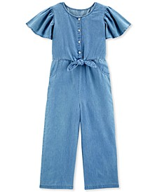 Little & Big Kids Denim Jumpsuit