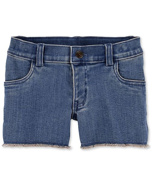 Carter's Big & Little Girls Frayed Denim Shorts