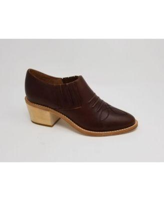NYLA PREMIUM Santa Ana Leather Slip On Bootie