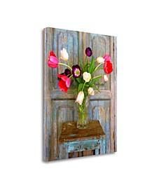 Tulips, Mexico by Alan Klug Giclee Print on Gallery Wrap Canvas