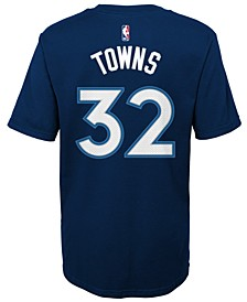 Big Boys Karl-Anthony Towns Minnesota Timberwolves Name And Number T-Shirt
