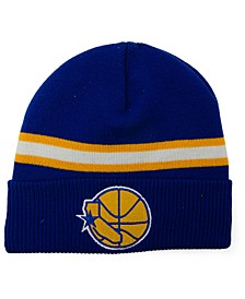 Golden State Warriors HWC Retro Stripe Knit Hat