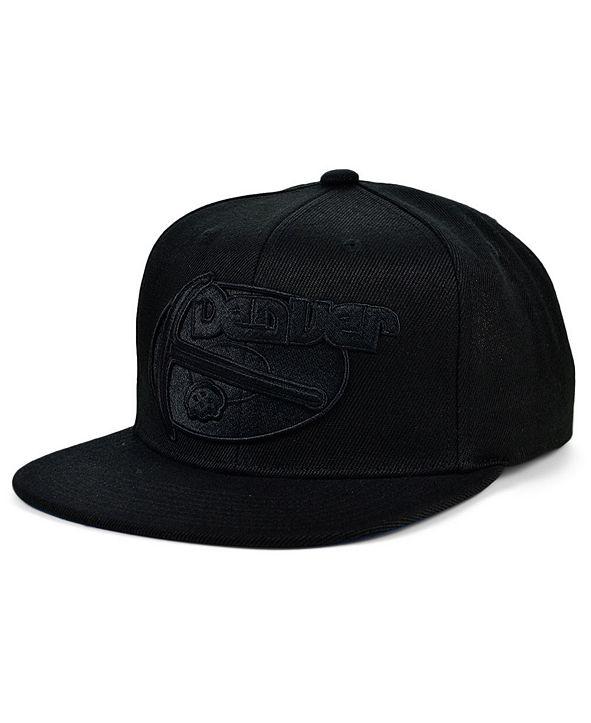 Mitchell & Ness Denver Nuggets Under The Black Snapback Cap