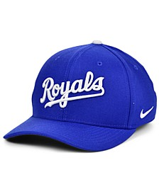Kansas City Royals Legacy 91 Dri-FIT Swooshflex Stretch Fitted Cap