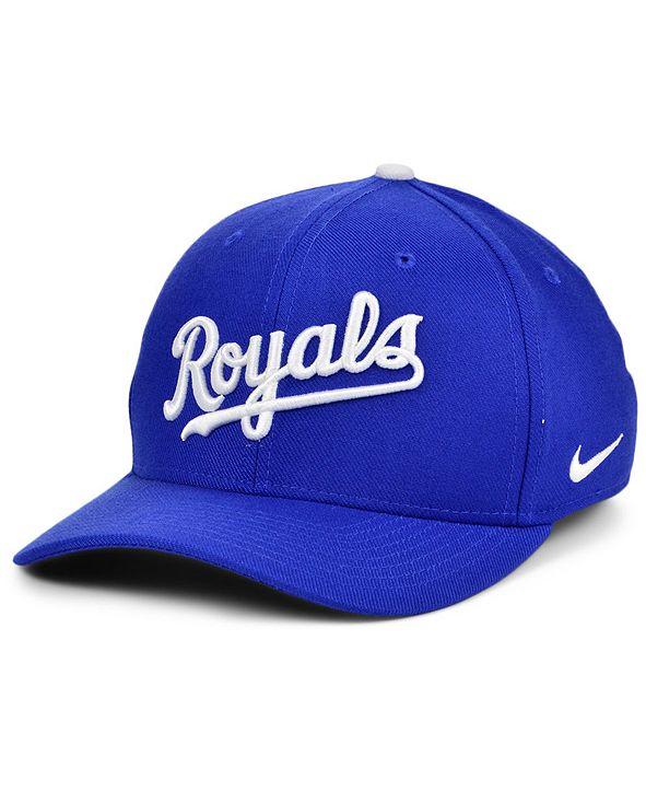 Nike Kansas City Royals Legacy 91 Dri-FIT Swooshflex Stretch Fitted Cap
