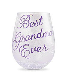 Enesco LOLITA Best Grandma Stemless Wine Glass
