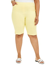 Plus Size Pull-On Shorts
