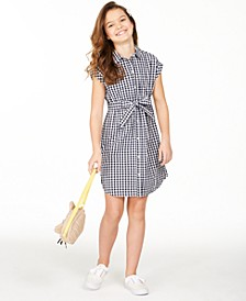 Big Girls Mommy & Me Gingham Dress, Created for Macy's