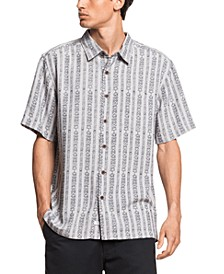 Quiksilver Men's Tiki Row Short Sleeve Shirt