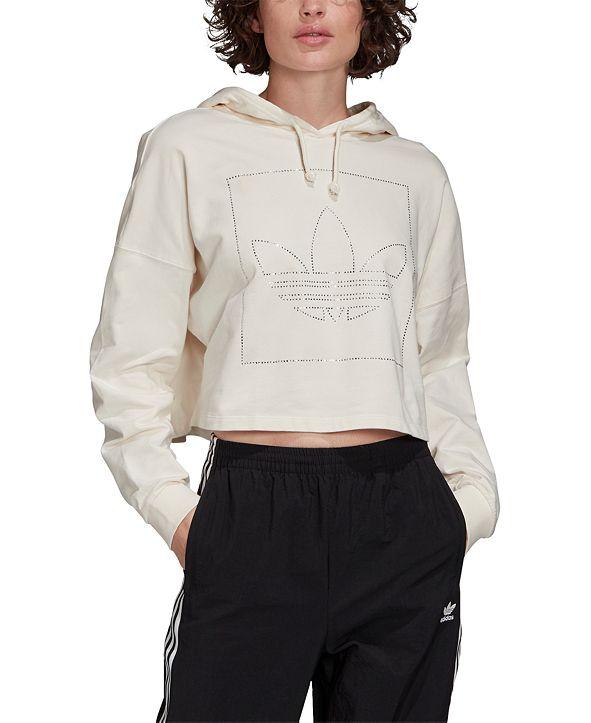 adidas Women's Cropped Hoodie