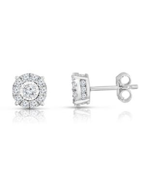 Diamond Studs (1-1/2 ct. t.w.) in 14K White Gold