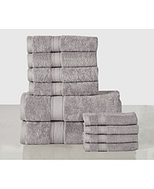 Soft and Luxurious Ultra Absorbent Towel Set - 10 Piece