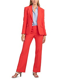 Pistache One-Button Blazer