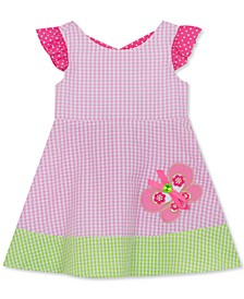 Baby Girls Seersucker Butterfly Dress