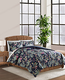 Cathrina Navy 2-Pc. Twin Comforter Set