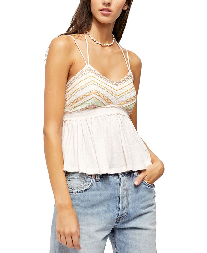 Free People Well-Traveled Camisole