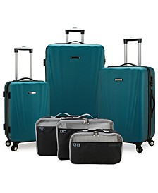 Courtland 6-Pc Hardside Luggage Set