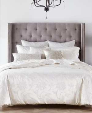 Closeout! Hotel Collection Classic Jacobean Embroidered Full/Queen Duvet Cover, Created for Macy's Bedding
