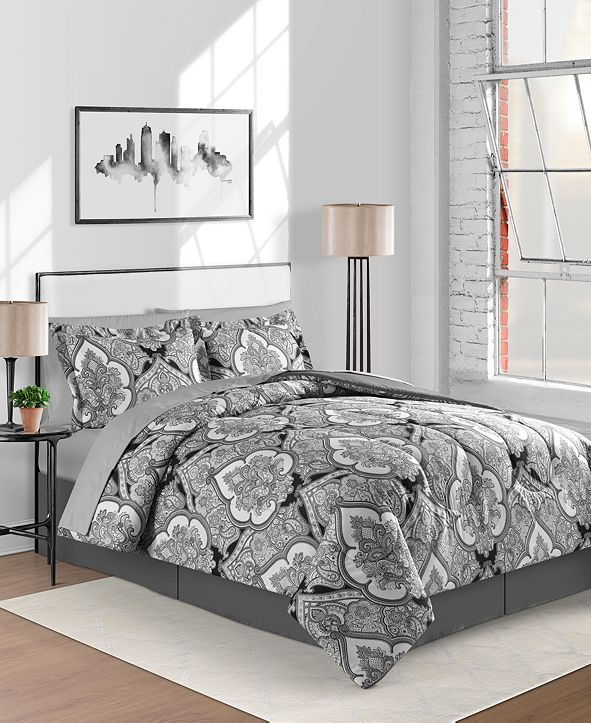 Fairfield Square Collection Gotham 8-Pc. King Comforter Set