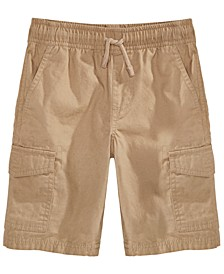 Toddler Boys Textured Canvas Cargo Shorts, Created for Macy's