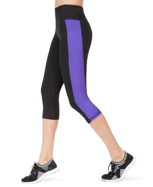 Colorblocked Cropped Leggings