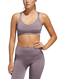 Women's Primeknit Strappy Low-Impact Sports Bra