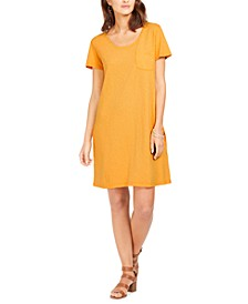 One-Pocket T-Shirt Dress, Created For Macy's