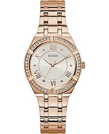 Women's Rose Gold-Tone Stainless Steel Bracelet Watch 36mm