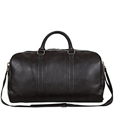 """In Less Distress 20"""" Faux Leather Carry-On Duffel Bag"""