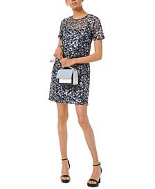 Millefleur Sequined Dress