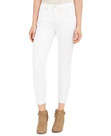 Ava Raw-Hem Skinny Jeans