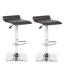 Jeanie Adjustable Height Swivel Bar Stool