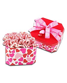 Yogurt Dipped Heart Pretzels Gift Box