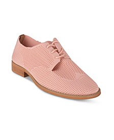 Women's Perforated Detail Knit Oxford